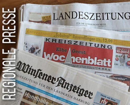 Presseartikel rund um Alpha E in der regionalen Presse